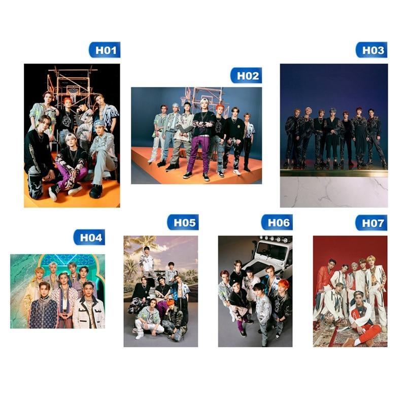 1 шт. Kpop NCT обычный второй альбом резонансный Pt.1 постер, постер для украшения спальни, настенная живопись обои