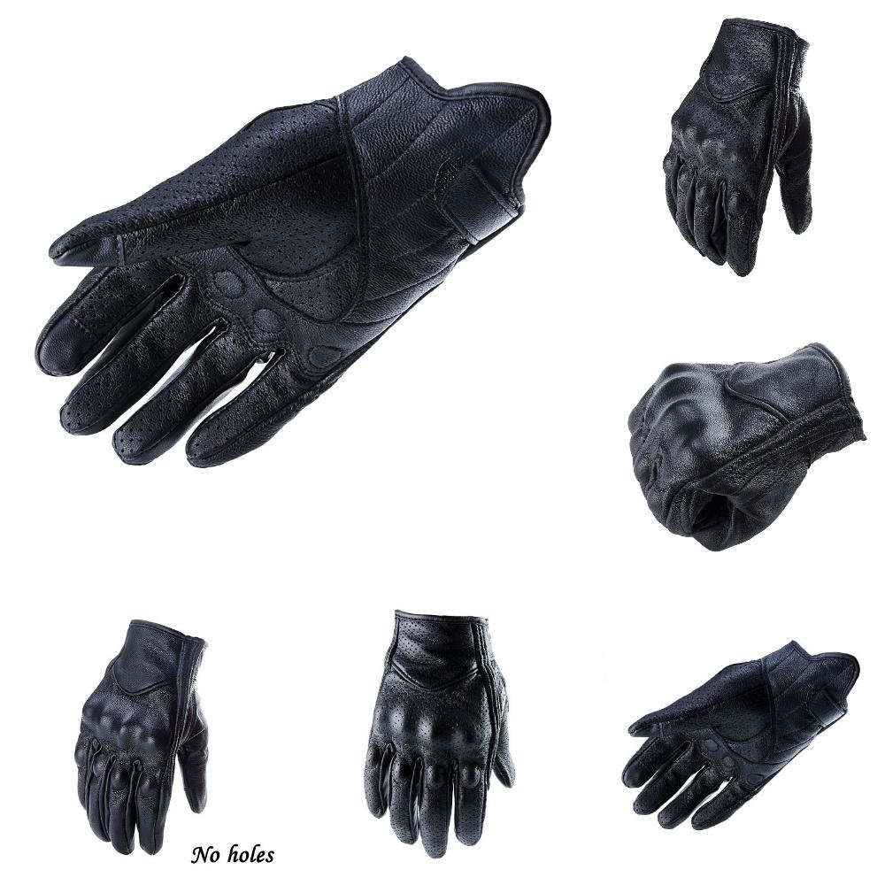 Touch Screen Gloves Motorcycle Mitten Motorbike Racing Winter Bicycle Mitten Cycling Scooter Gloves Genuine Leather Gloves