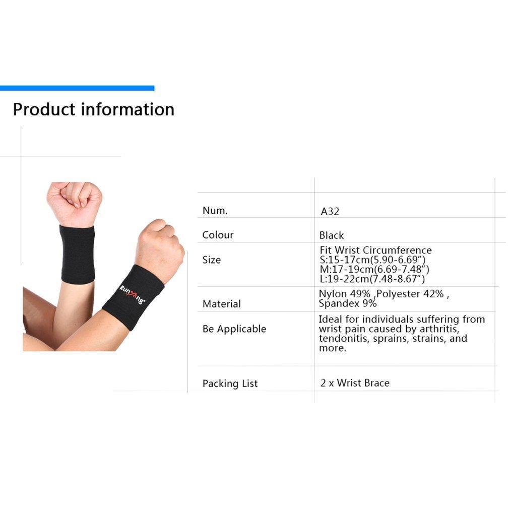 Mumian Elastic  Brace Glove Hand Wrist Supports Arthritis Sleeve Support LN