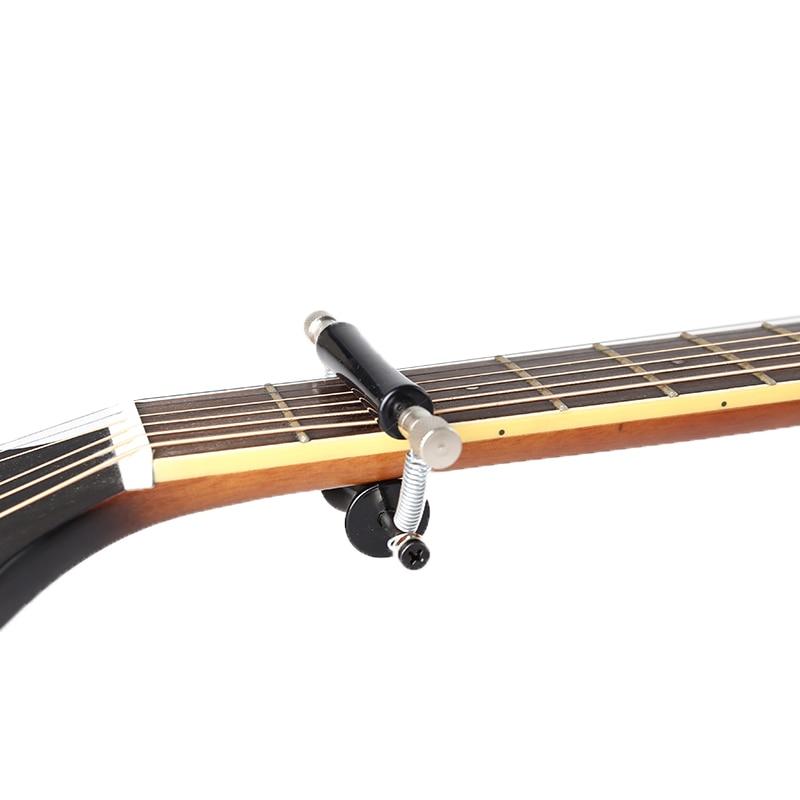1 Pcs Portable Classic 6 String Bass Guitar Sliding Capo Rolling Slide 11*6*3cm