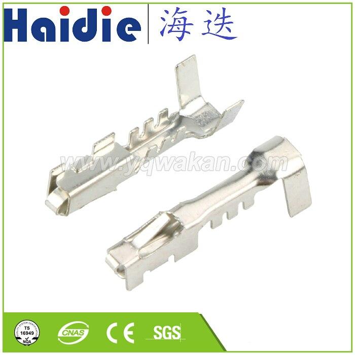 100 PCS 1.5 series copper terminal connector terminal car terminal block tin terminal 12084200 12048074