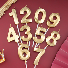 Happy Birthday Number Candles Home Decoration Accessories Candle Party Cake Topper Bbay Shower for Girl Boys Kids Gifts