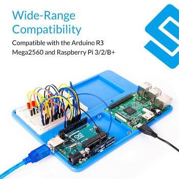 SunFounder RAB ラズベリーパイ 3 ホルダー 5 1 ベースプレートラズベリーパイで 3B + 、 3 モデル B 、 2 モデル B + Arduino のための