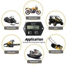 Toerenteller Motor Tach Urenteller Gauge Rpm Teller Voor Motorfiets Vervangbare 6XDB