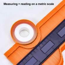 10 дюймов замок более широкий контурный манометр инструмент для профилирования краев из сплава измерительная линейка для дерева ламината п...