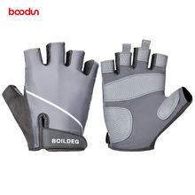 Профессиональные мужские противоскользящие перчатки для тренажерного