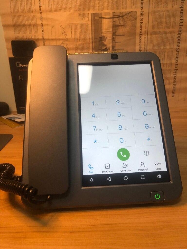Android LTE fixe sans fil fixe 4G SIM réseau visiophone glob universel personnes âgées WIFI vidéo téléphone portable bureau à domicile - 2