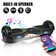 6.5 Inch Electric Scooters Hoverboard Smart Electric Skateboard Self Balance Scooter Bluetooth Speaker LED Hover Board Oxboard e twow long board adult hover board self balance electric scooter electric skateboard gyropode light board foldable hoverboard