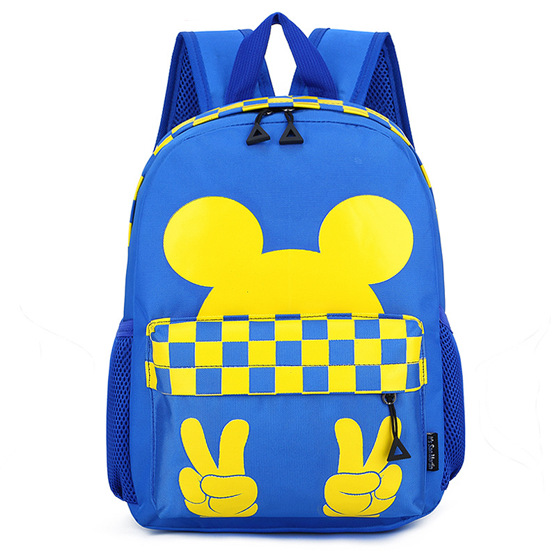 Kindergarten School Bag Korean-style CHILDREN'S Rucksack Cartoon Cute Mi Qi CHILDREN'S School Bags Backpack Customizable