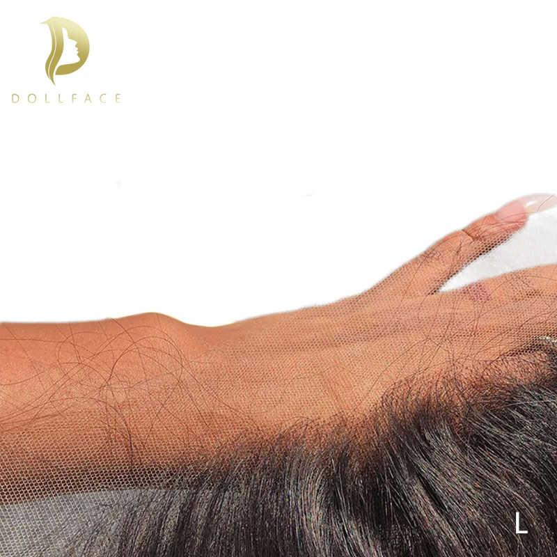 """Прозрачный кружевной фронтальный 13x6 прямые волосы низкое соотношение 8 """"-24"""" бразильские remy человеческие волосы hd кружево предварительно выщипанный натуральный цвет"""