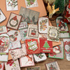 Christmas limited set stickers DIY scrapbooking mobile computer diary gift packaging sealing decoration material paper