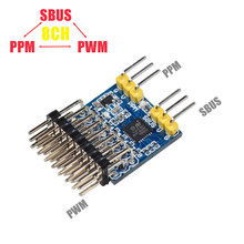 SkyArea 8CH SBUS PPM PWM преобразователь сигнала Decorder Encorder для приемника FrSky FUTABA TBS 2,4 ГГц и 900 МГц