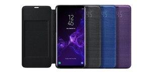 Image 2 - Original Samsung LED Ansicht Abdeckung Smart Abdeckung Telefon Fall für Samsung Galaxy S9 G9600 S9 + S9Plus G9650 Schlaf Funktion karte Tasche