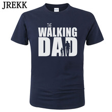 2020 The Walking Dad T Shirts Men Tops Casual Cotton Father's Day T Shirts Short Sleeve Men Funny Dad Gift T-shirt  C87