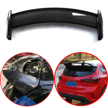 For Ford Focus RS 2019 2020 top configuration roof spoiler Black color or Carbon fiber coating ABS material Spoiler