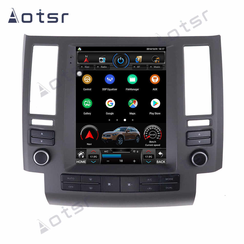 AOTSR Android 9 Auto Radio Coche Für Infiniti FX35 FX45 FX25 FX37 2003 2004 2005 2006 Multimedia Player GPS DSP carPlay AutoRadio