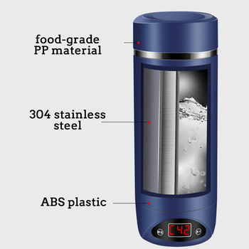 420ml Portable Electric KettlesThermal Cup Make tea Coffee Travel Boil water Keep warm Smart Water Kettle Kitchen Appliances 2
