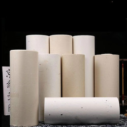 Calligraphy Paper Rolling Half Ripe Yunlong Xuan Paper Chinese Plant Fiber Rice Papers Painting 100m Thicken Bamboo Xuan Paper
