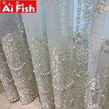 Изысканные белые жемчужные прозрачные вуали роскошные вышитые