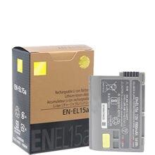 Оригинальный EN-EL15a RU EL15A ENEL15 Камера Батарея для Nikon D850 D810 D750 D610 D7500 D7200 D7100 D200 D300 D700 D500 D600 MH-25