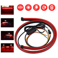 Car Styling Trunk Tail Brake Light High Mount Additional Stop Rear Tail Auto LED Strip Running Turn Signal Accessories