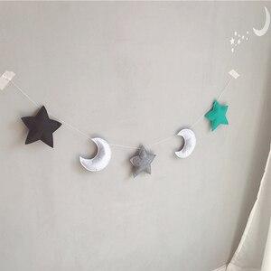 INS Nordic Felt Moon Garlands