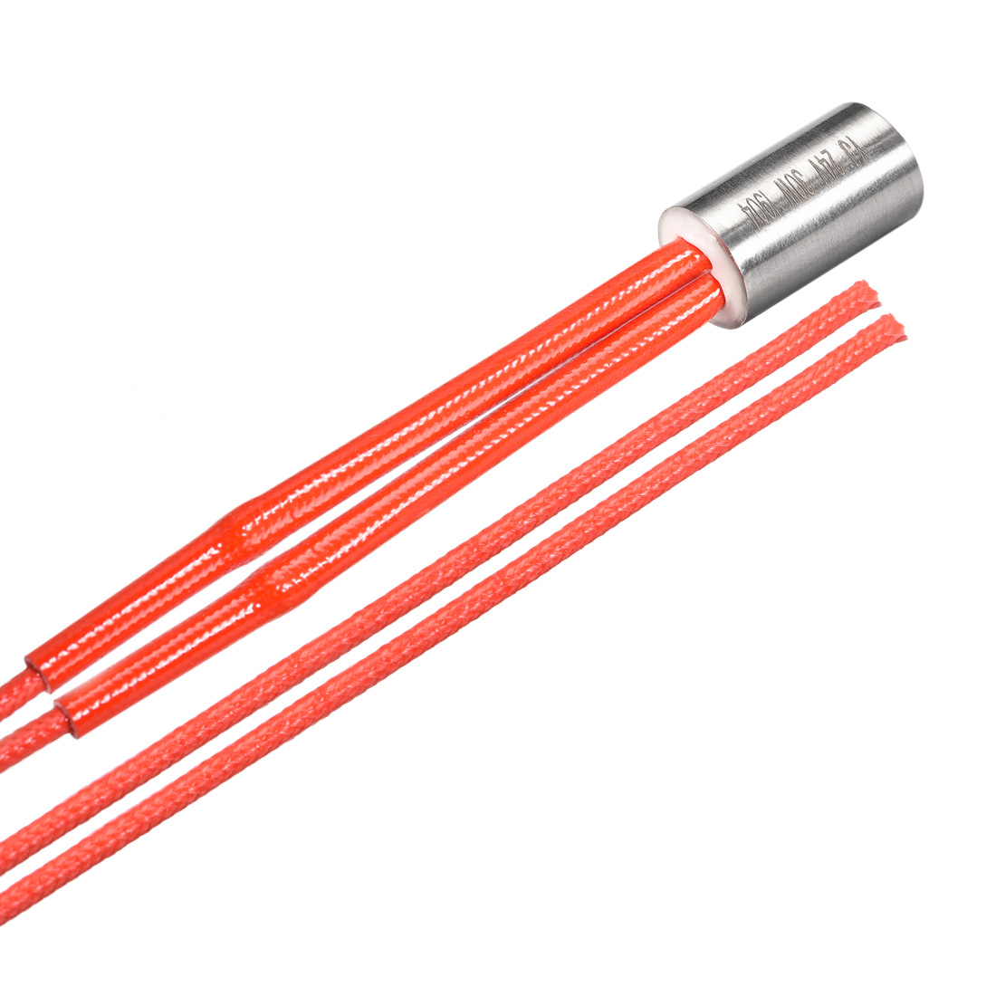 Uxcell Cartridge Heater AC 24V 30W Stainless Steel Heating Element Replacement
