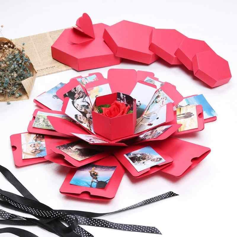 Personalizados Recuerdos especiales pareja Scrapbook memoria Álbum De Fotos Regalo de uso múltiple