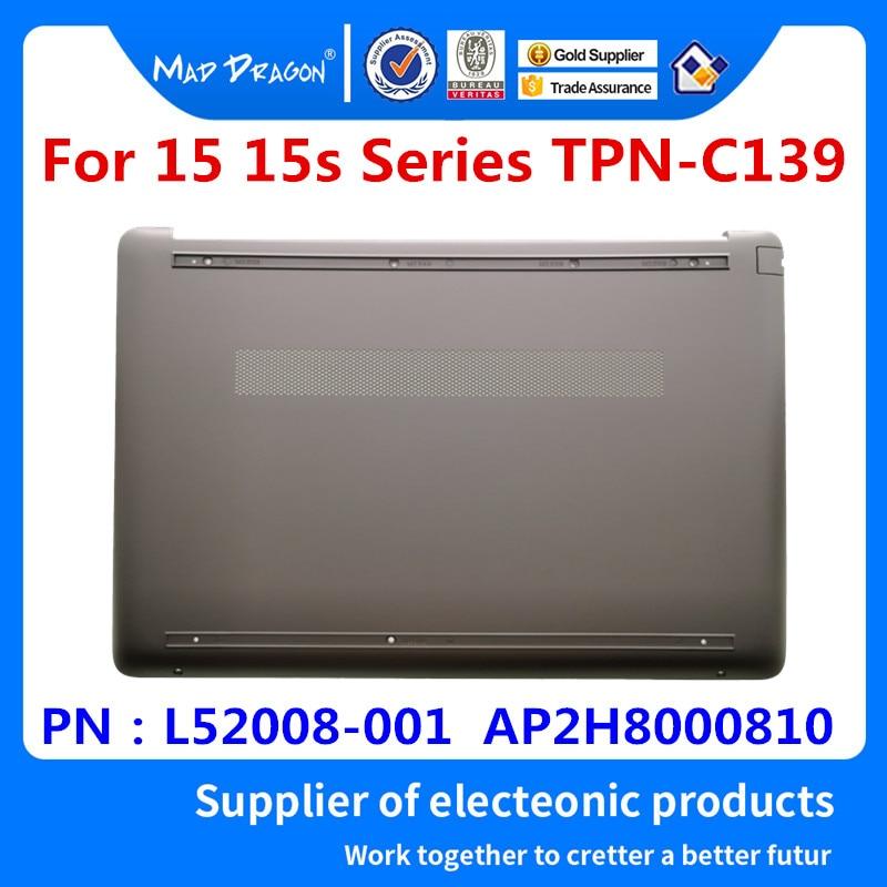 MAD DRAGON marque ordinateur portable nouvelle Base inférieure couvercle inférieur assemblage or shell pour HP 15 15s série TPN-C139 L52008-001 AP2H8000810
