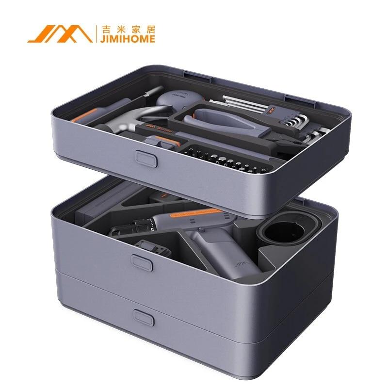 JIMI Multifunction X3-ABC Jimi Box Layered Free Combination Common Tool Box for Hardware All-purpose Household Kit