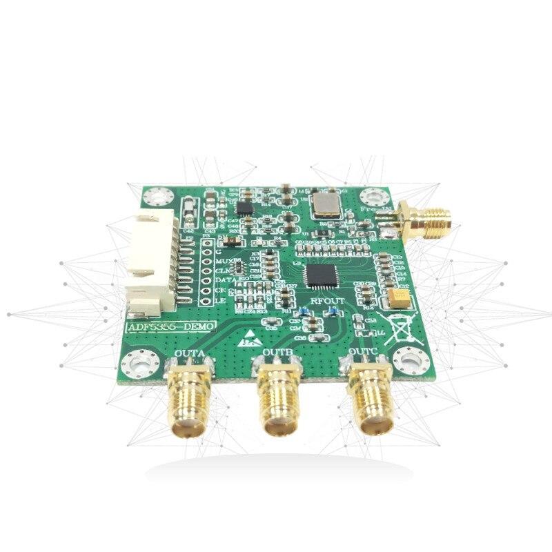 Source de Signal RF 54 M-13.6G à faible bruit de Source de fréquence de boucle à verrouillage de Phase du Module ADF5355 UWB