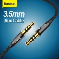 Baseus AUX Kabel Jack 3,5mm Audio Kabel Lautsprecher Kabel für MP3 Kopfhörer Auto AUX Kabel Xiaomi Redmi 5 Plus oneplus 5t AUX Cord