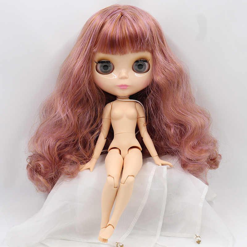 קפוא Blyth הבובה מבריק מבריק פנים פנים טבעי עור משותף גוף bjd צעצוע מיוחד מחיר מכירה אחת 1/6 30cm
