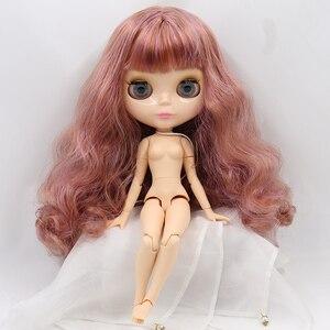 Image 3 - ICY DBS cuerpo articulado de piel natural, cara brillante, muñeca Blyth, juguete bjd 1/6, 30cm