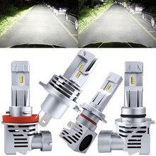 Lampadina a LED per auto 12V 55W H7 H11 H1 faro H4 60/55W lampada 9005 HB3 9006 HB4 18000LM 6500K