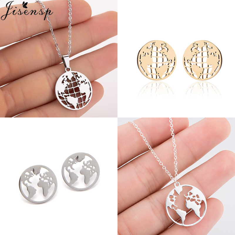 Korean Fashion Luxury Crystal Inlay Gold Geometric Round Black Party Office Small Stud Earrings For Women Girls Gifts