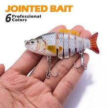 Hanlin рыболовная приманка 85 см/11 г 6 сегментов искусственный