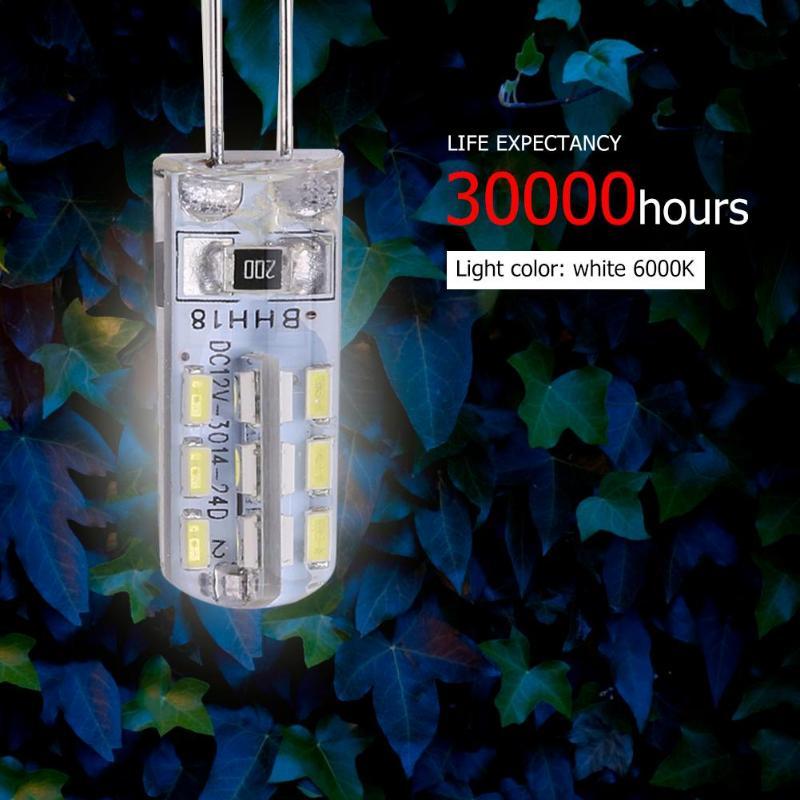 20W G4 Halogen Lamp 12V Warm White 360 Beam JC Clear Halogen Bulb Light