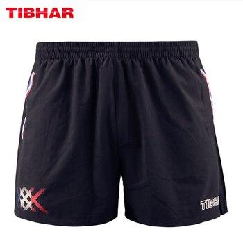 TIBHAR Table Tennis Shorts France National Team comfortable high elasticity ping pong clothes sportswear shorts цена 2017