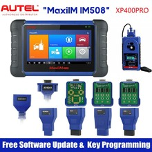 Autel MaxiIM IM508 & XP400PRO OBD2ระบบทั้งหมด Daignostic สแกนเนอร์ IMMO การเขียนโปรแกรมคีย์ PK IM608