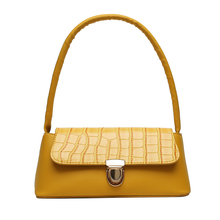Fashion 2020 New Women's Small Shoulder Bag PU Leather Crocodile Pattern Outdoor Subaxillary Messenger Bag Tote charming women s tote bag with crocodile print and pu leather design