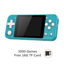 Q90 רטרו וידאו משחק קונסולת כף יד משחק נגן 3.0 אינץ מסך נטענת עם 16GB TF כרטיס כף יד משחק קונסולת רטרו