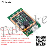 125Khz/13.56Mhz Dual-frequency ID IC Card Reader Module Small Volume RFID Embedded Module Electronic Bankboard