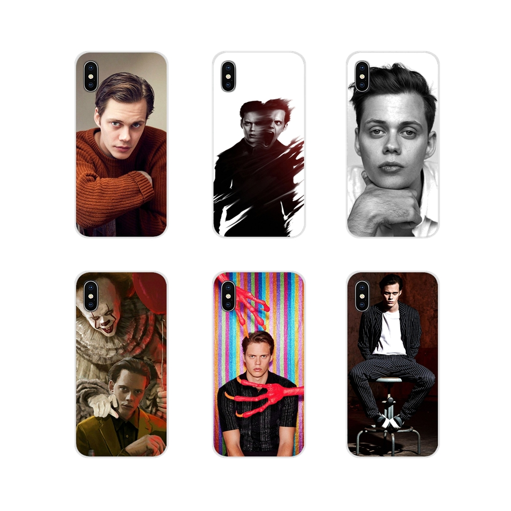 For Apple iPhone X XR XS 11Pro MAX 4S 5S 5C SE 6S 7 8 Plus ipod touch 5 6 Fashion <font><b>Bill</b></font> <font><b>Skarsgard</b></font> Accessories Phone Cases Covers image