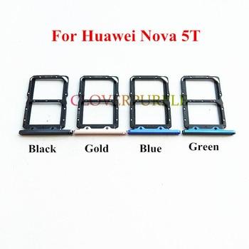 1x+nouvelles+pi%C3%A8ces+de+rechange+d%27adaptateur+de+support+de+fente+de+plateau+de+carte+SIM+pour+Huawei+Nova+5T