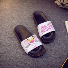 Summer Slippers Pantuflas Comfortable Cartoon Women Chinelo 298 Domowe