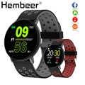 Montre intelligente hommes tension artérielle horloge intelligente ronde étanche Smartwatch femmes Sport santé Bracelet montre intelligente pour Android IOS