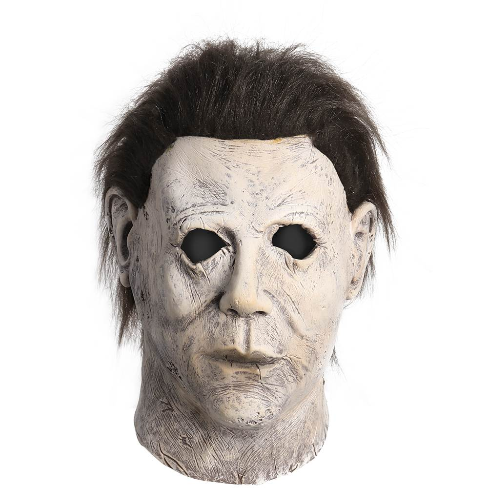 2019 New Michael Myers Mask Horror Scary Movie Bloody Variant Halloween Mardi Gras Mask Soft Masquerade Masks Latex Toys image