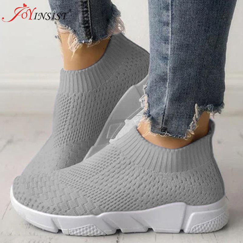 Women Shoes Plus Size 42 Sneakers Women Summer Gym Shoes 2019 Breathable Flyknit Women  Casual Shoes New Arrival
