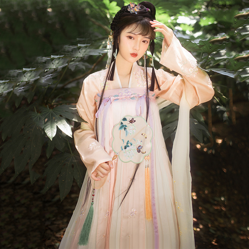 Traditional Hanfu Women Chinese Dance Costumes Folk Festival Outfit Fairy Dress Performance Clothing Oriental Stage Wear DC2694